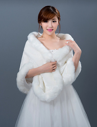 Winter wedding robe coat bridesmaid dresses shawl 4431876 for Shawls for wedding dresses