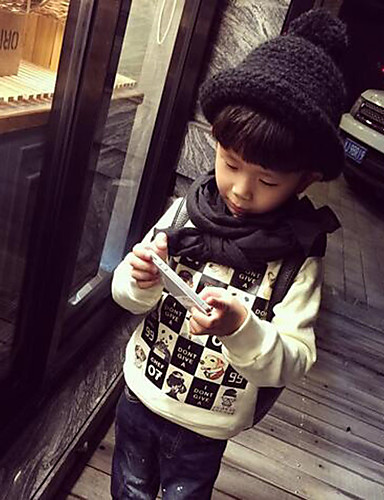 Buy Boy's Cashmere / Cotton Hoodie & Sweatshirt,Winter Spring Fall Check