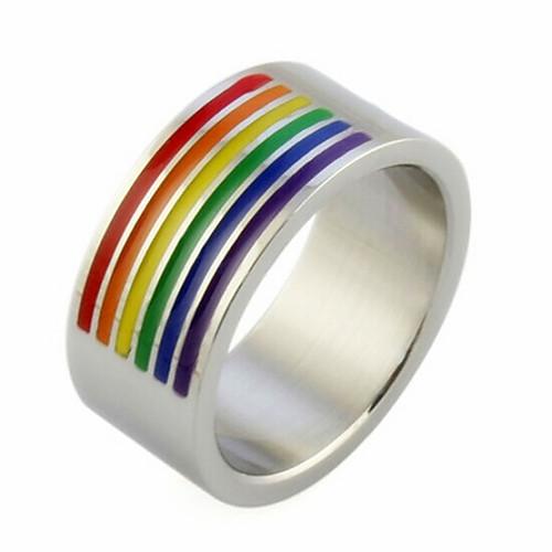 Радужные кольца браслеты лесби магазин