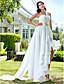 Lanting Bride® Linha A / Princesa Pequeno / Tamanhos Grandes Vestido de Noiva - Chique e Moderno / Glamouroso e Dramático / Recepção