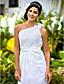 gaine de mariée lanting / colonne petite / tailles plus robe de mariée-parole longueur d