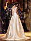 LAN TING BRIDE A-lijn Prinses Trouwjurk - Klassiek & Tijdloos Elegant & Luxueus Glamoureus & Dramatisch Eenvoudigweg subliem Hofsleep