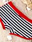 мужские полосы синий / красный плавать шорты, нейлон и спандекс