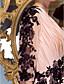 시스 / 칼럼 V-넥 바닥 길이 쉬폰 프롬 포멀 이브닝 블랙 타이 갈라 드레스 와 아플리케 크리스 크로스 으로 TS Couture®