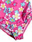 여자의 수영복 플로럴 여름 폴리에스테르 / 나일론 멀티 색상