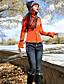 Dame Skinny Jeans Bukser-Fritid/hverdag Bohem Ensfarget Broderi Mellomhøyt liv Knapp Bomull / Polyester / Spandex Uelastisk Vinter