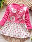 Mädchen Kleid Ausgehen Lässig/Alltäglich Patchwork Baumwolle Frühling Herbst Lange Ärmel