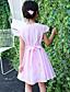 Mädchen Kleid Bestickt Baumwolle Sommer Kurzarm