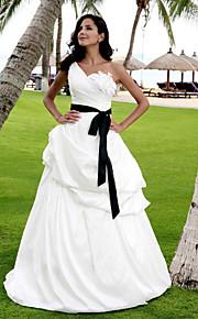 Lanting Bride® Trapèze / Princesse Petites Tailles / Grandes Tailles Robe de Mariage - Classique & Intemporel / Chic & Moderne / Elégant