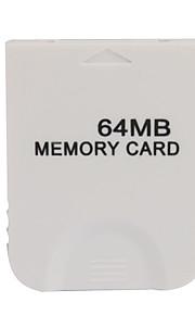 64MB hukommelseskort til Wii