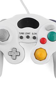 bedraad turbo shock game controller voor de gamecube NGC en Wii / Wii U (wit)