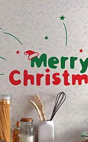 Joulukoristeita seinä tarroja ornamentit tähteä