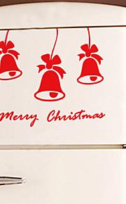 Joulukoristeita seinä tarroja ornamentit kulkunen