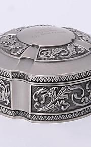 personnalisé millésime tutania boîte à bijoux ronde