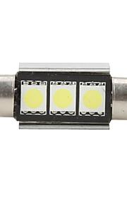 36mm 5050 SMD LED 5500K ampoule blanche pour la voiture