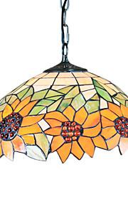 LEEK - Lüster Tiffany mit 2 Glühbirnen
