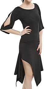 ballroom dames polyester latin dance outfit