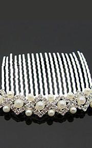 Femme Alliage / Imitation de perle Casque-Mariage / Occasion spéciale / Extérieur Peigne Clair