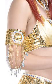 1-delig dancewear polyester met kralen / pailletten buikdans armband voor dames meer kleuren