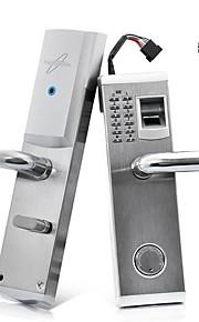 3-i-1 biometriske fingeraftryk og adgangskode dørlås med deadbolt (højrehåndet)