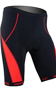Santic-pyöräily shortsit miesten ja naisten Coolmax-materiaali pyöräily 1/2 shortsit (punainen)