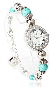 Classic Quartz ronde vorm met Crystal Bracelet Watch