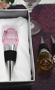 belle rose de cristal bouchon de bouteille (plus de couleurs)