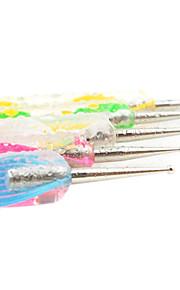 enkel boorpunt gereedschap kits (inclusief 5 stuks van verschillende grootte pennen)