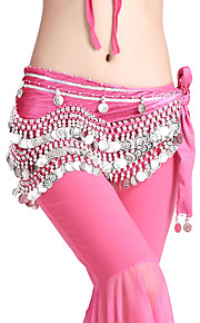 Dancewear 248 Coins Velvet Belly Dance Belt For Ladies More Colors