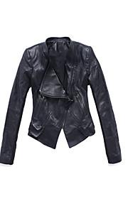 Long Sleeve Evening/Career Lambskin Leather Jacket