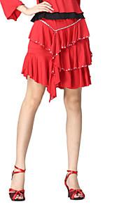 Dancewear Viscose Praktijk Latin Dance Rok voor dames meer kleuren