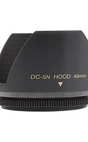 Mennon 49mm Parasol para objetivos de cámaras digitales Lentes 16mm +, 28mm Film +