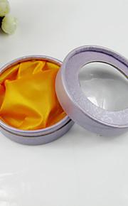 Boîte à bijoux de papier ronds de femmes (plus de couleurs)