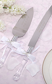 batteries de cuisine couteau de gâteau de mariage couteau à gâteau personnalisé et ensemble de serveurs