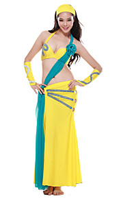 Dancewear Spandex Belly Dance Outfits Top and Bottom For Ladies More Colors