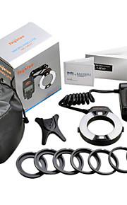 LED Macro TTL Ring Flash LCD-skærm MK-14EXT til Nikon DSLR