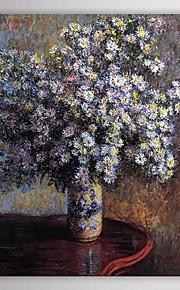 Célèbres peinture à l'huile Asters par Claude Monet