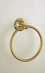 anneau antique serviette mural - ti-finition PVD