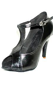 Customized Peep Toe T-strap Latin/Ballroom Performance Shoes (More Colors)