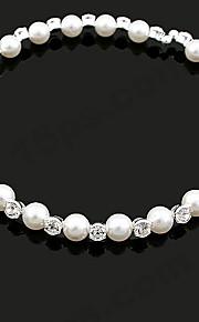 Collier Mariage/Engagement/Anniversaire/Cadeau/Sorée/Quotidien Imitation de perle/Strass Alliage Femme