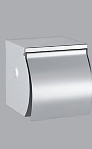 Contemporary Sliver Stainless Steel Finish Stainless Steel  Toilet Paper Holder