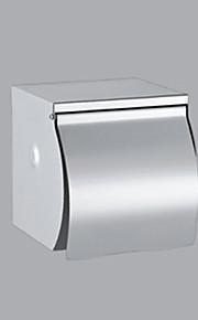 Sliver Acier inoxydable Fini Acier inoxydable Support de papier hygiénique contemporain
