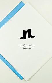 Boda personalizada servilletas Boots (más colores) Juego de 100