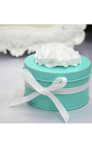 6 Piece/Set Titulaire de Faveur-Cylindre Boîtes à cadeaux Cannette de cadeau Non personnalisé