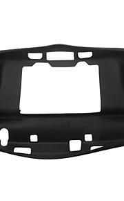 Sort Blød hud Taske med Protector til Nintendo Wii U Gamepad Remote controller