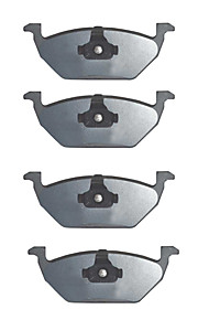 OE Replacement Front Platinum Premium Ceramic Brake Pad Set For Volkswagen Golf 2000-2006