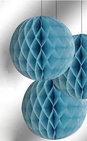 "bryllup indretning 10 ""honeycomb silkepapir blomst bold (flere farver)"