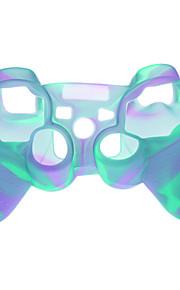 Plast Skyddsfodral för PS3 Wireless Controller - Ljusblå