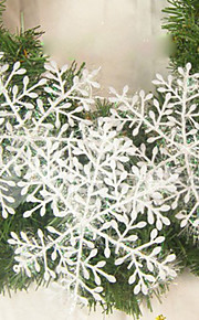 Wedding Décor Christmas Snowflake Sheet Ornament House Decoration - Set of 6