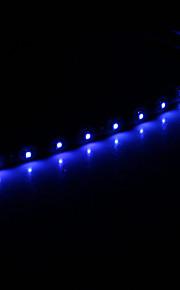 0,3 M 15x1210SMD Cool White \ Blue Light LED Vanntett Fleksibel String Light (DC 12V)